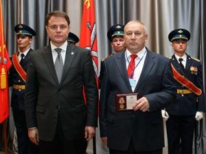 Начальник Ефремовского отделения АО«ТНС энерго Тула» награжден медалью «Трудовая доблесть»