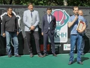 Общедоступная баскетбольная площадка открылась при поддержке ПАО «ТНС энерго НН»