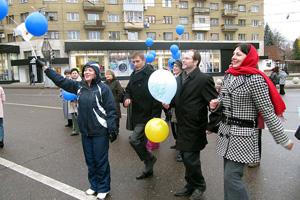 Сотрудники ОАО «ВЭСК» приняли участие в праздничном митинге, посвященном Дню народного единства