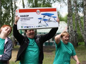 В ООО «Энерготрейдинг» состоялись корпоративные соревнования «Весёлые старты»