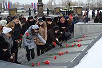 Сотрудники ОАО «ВЭСК» приняли участие в торжественных мероприятиях в честь Дня Защитников Отечества