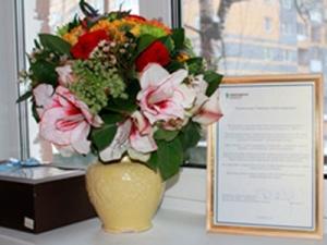 1декабря Нижегородская сбытовая компания поздравила ветерана компании со100-летием
