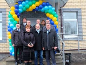 Состоялось торжественное открытие абонентского пункта вгороде Первомайск