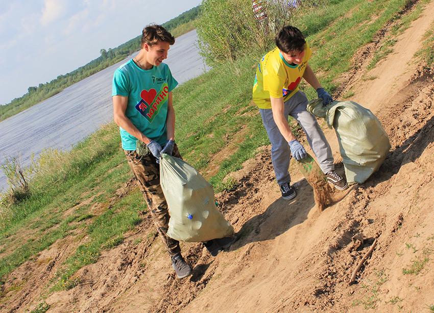«ТНС энерго Марий Эл» приняло участие во Всероссийской экологической акции «Чистые берега»