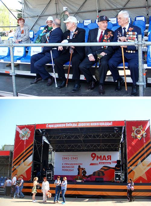 ПАО «ТНС энерго НН» приняло участие в митинге, посвященном Дню Победы